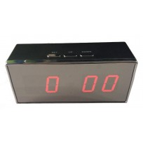 Digital Clock with IP HD Concealed Security Camera and Video Recorder