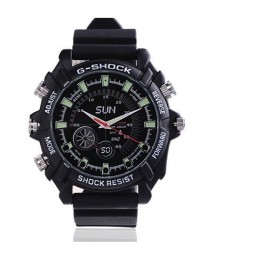 NEW FOR 2013 NIGHT VISION 8GB SPY WATCH