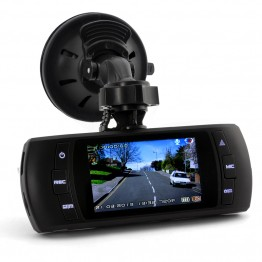 2.7 Inch Car DVR-GPS Logger-Motion Detection-1080p