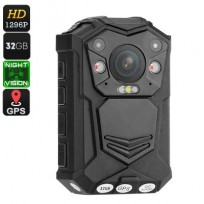 Police Body Worn Camera - 10M Night Vision