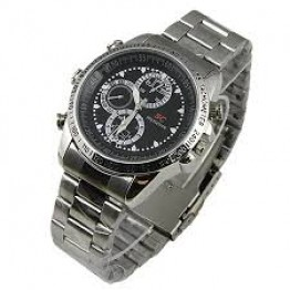 4 gb Stainless Steel Version D Spy Watch